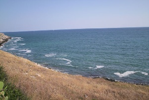 Salento - La tramontana ripulisce la costa salentina
