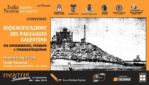 Leuca - Convegno sul Paesaggio Salentino patrimonio pubblico e ricchezza da salvare.