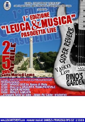 Leuca - 1^ Edizione - Leuca e Musica