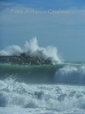 I Video di Leucaweb - Mareggiata 01 novembre 2012