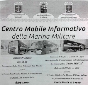 Leuca - Commemorazione 70esimo anniversario affondamento P. Micca