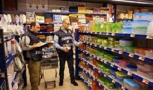 Sicurezza prodotti: sequestrati 50mila articoli nel Salento