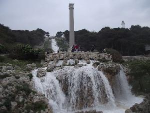 Video apertura cascata monumentale in occasione del motoraduno internazionale
