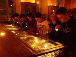 Apertura a lume di candela del museo di Cosimo De Giorgi e Liborio Salomi
