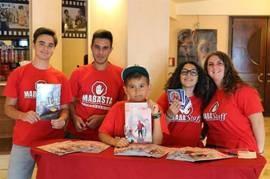 Spider-Man Homecoming: alla prima di Lecce i ragazzi di Mabasta hanno autografato e regalato fumetti Panini contro il bullismo
