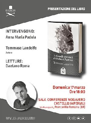 Al Castello Imperiali di Francavilla l'esordio letterario di Tommaso Landolfo