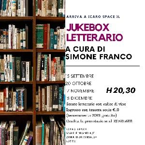 Arriva a Icaro Space il Jukebox letterario a cura di Simone Franco