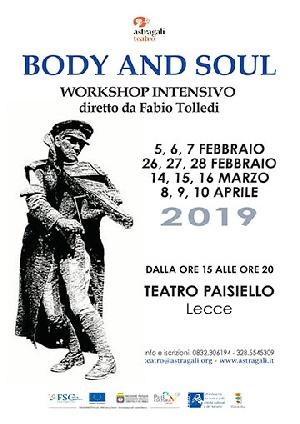 BODY AND SOUL workshop di Fabio Tolledi