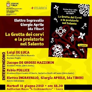 Elettra Ingravallo, Giorgia Aprile e Ida Tiberi -  La Grotta dei Cervi e la preistoria nel Salento