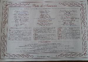 Firmato il Patto di Amicizia tra i Santuari di Leuca - San Michele Arcangelo - San Nicola di Bari e Santiago di Compostela