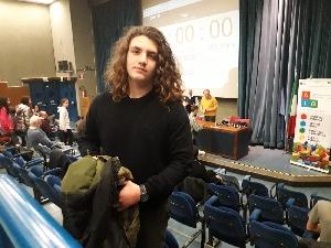 Lo studente salentino Alessio G. Felline del Liceo Scientifico di Casarano al 4 posto del Campionato Nazionale del Calcolo Mentale a Udine Under 18